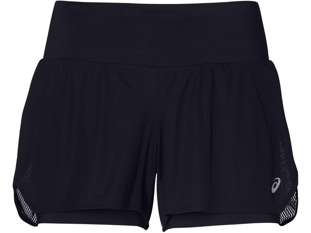 f1d23114a3 asics Cool pantaloncini da corsa Donna nero su Addnature